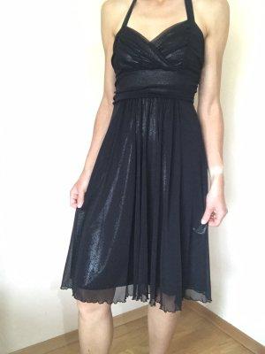 Midi-jurk zwart