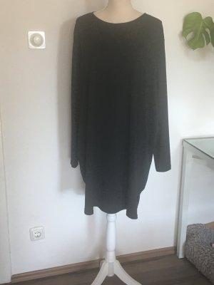 H&M Camisa tipo túnica negro