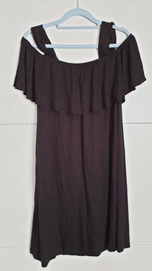 Schwarzes Tunika/Minikleid Gr. L