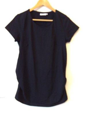 Schwarzes Umstands-T-Shirt