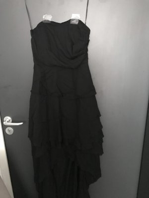 Jurk met langere achterkant zwart