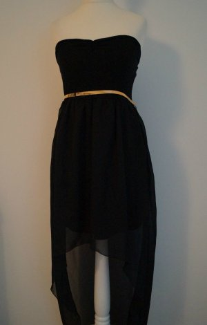 High Low Dress black