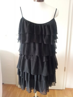 3 Suisses Flounce Dress black