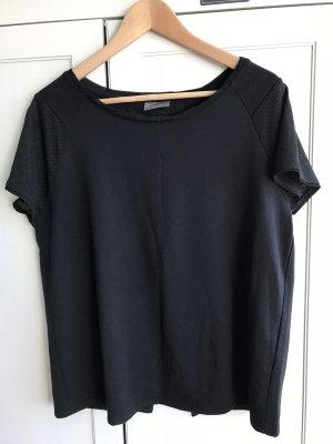 Schwarzes warmes Shirt in Größe 40