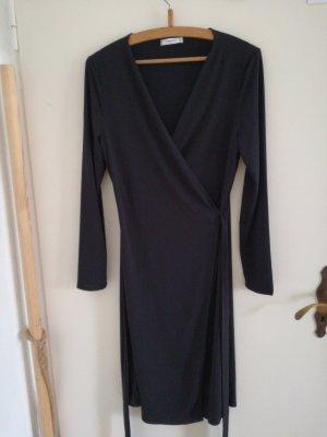 Mango Suit Robe portefeuille noir
