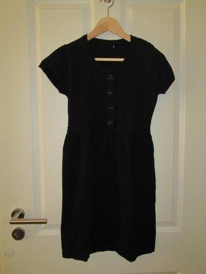 schwarzes Woll - Kleid