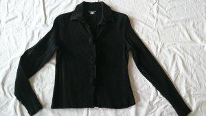 zeitlos by luana Shirt Jacket black mixture fibre
