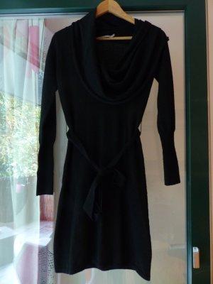 schwarzes Wollkleid / Strickkleid von kookai in Größe 0