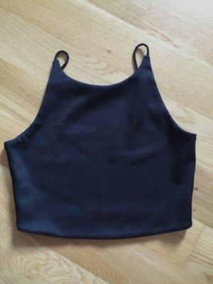 Schwarzes Zara-Crop top