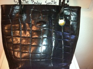 Mulberry Frame Bag black leather