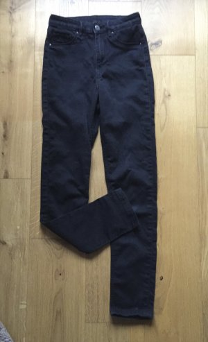 Schwarzgraue Highwaist Jeans