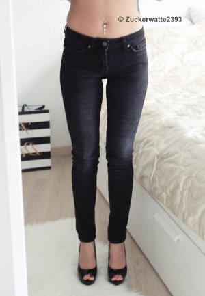 schwarzgraue Tigha Jeans W24 (W25)