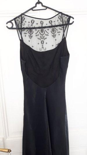 Schwarzschimmerndes Abendkleid von Faviana