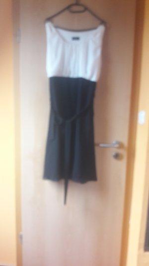 schwarzweises kleid