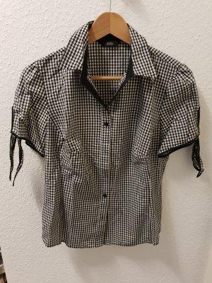 schwarzweiße Bluse von Marks & Spencer