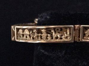 Schweres Armband 18 Karat Gelbgold