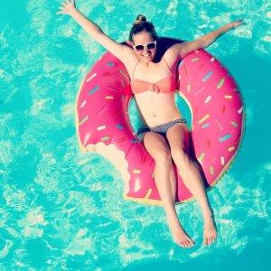 """Schwimmring """"Donut mit Biss"""""""