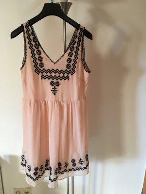Vila Chiffon jurk veelkleurig
