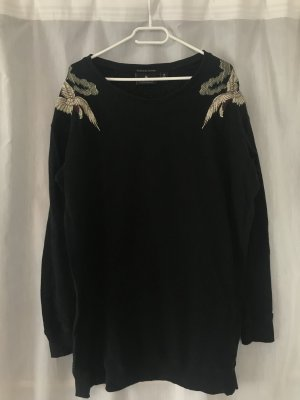 Maison Scotch Lange jumper zwart