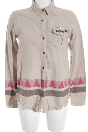 Scotch R'Belle Langarmhemd Aztekenmuster Country-Look