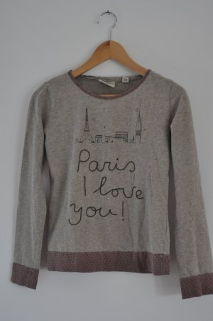 SCOTCH R`BELLE SWEATSHIRT 14 JAHRE PARIS I LOVE YOU !
