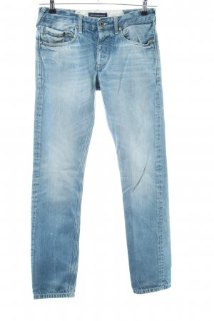 Scotch & Soda Boyfriendjeans blau Casual-Look