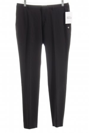 Scotch & Soda Bundfaltenhose schwarz Casual-Look