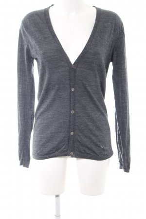 Scotch & Soda Cardigan hellgrau meliert Casual-Look