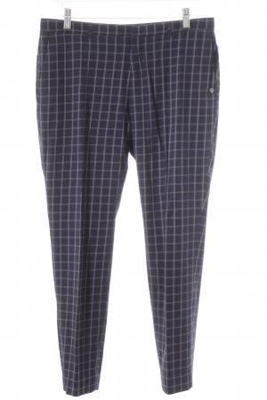 Scotch & Soda Chinos dark blue-white check pattern casual look
