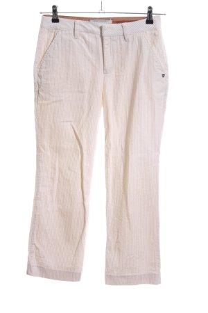 Scotch & Soda Pantalón de pana blanco puro look casual