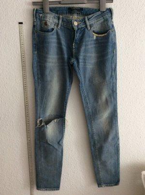 Scotch & Soda denim ripped jeans