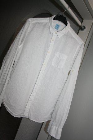 Scotch & Soda Chemise à manches longues blanc lin