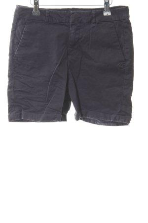 Scotch & Soda High-Waist-Shorts dunkelblau Casual-Look