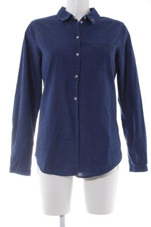 Scotch & Soda Camisa vaquera azul oscuro estilo country