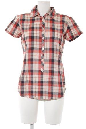 Scotch & Soda Geruite blouse geruite print casual uitstraling