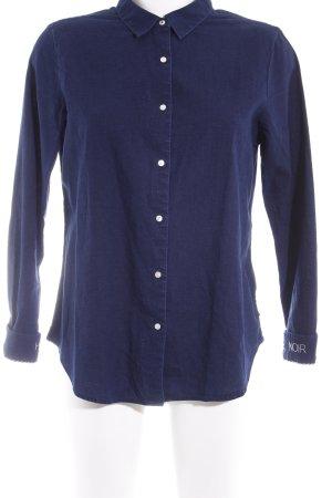 Scotch & Soda Langarmhemd dunkelblau Casual-Look