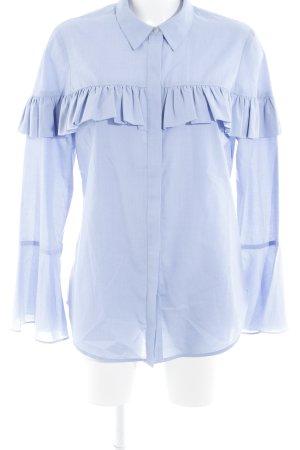 Scotch & Soda Camisa de manga larga azul celeste moteado estilo «business»