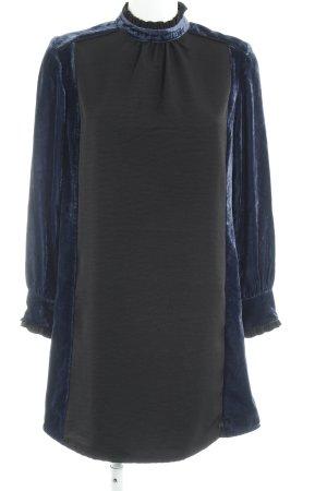Scotch & Soda Langarmkleid schwarz-dunkelblau Elegant