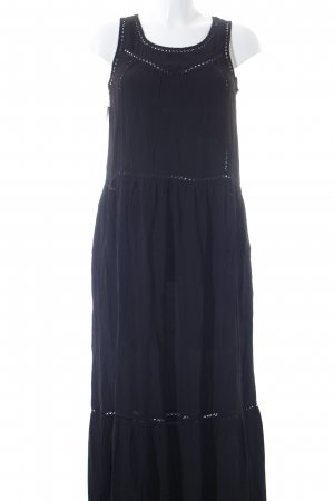Scotch & Soda Maxikleid schwarz Casual-Look