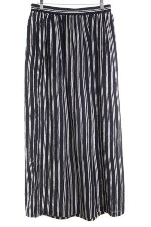 Scotch & Soda Maxi Skirt dark blue-white striped pattern casual look