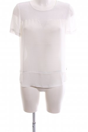 Scotch & Soda Oversized Bluse creme Casual-Look