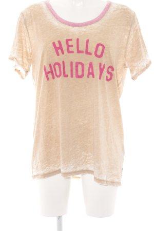 Scotch & Soda Print-Shirt Schriftzug gedruckt Beach-Look