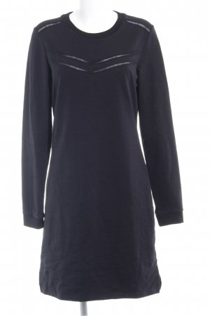 Scotch & Soda Vestido tipo jersey negro look casual
