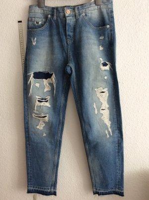 Scotch & Soda ripped jeans