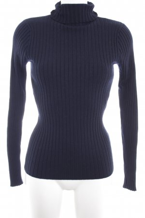 Scotch & Soda Rollkragenpullover dunkelblau Casual-Look