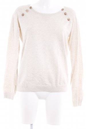 Scotch & Soda Rundhalspullover beige Casual-Look