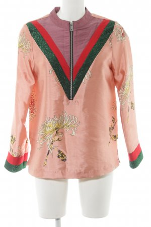 Scotch & Soda Jersey de cuello redondo estampado floral brillante