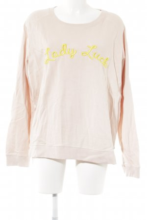 Scotch & Soda Rundhalspullover rosé Casual-Look