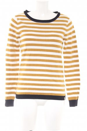 Scotch & Soda Rundhalspullover Streifenmuster Casual-Look