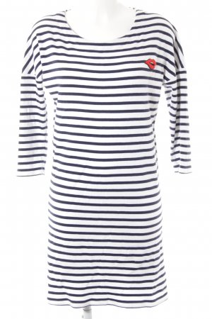 Scotch & Soda Shirtkleid mehrfarbig Marine-Look